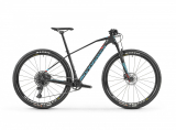 "2019 Bicykel Mondraker Chrono Carbon R 29"" Carbon light blue flame red"