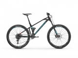 "2019 Bicykel Mondraker Foxy 27,5"" Navy light blue flame red"