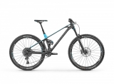 "2019 Bicykel Mondraker Foxy Carbon R 29"" black phantom light blue"