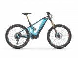 "2019 Elektrobicykel Mondraker Crusher XR + 27,5"" light blue flame red Carbon"