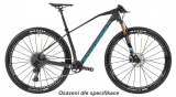 "2019 Bicykel Mondraker Podium Carbon RR X01 29"" Carbon light blue flame red"