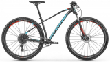 "2019 Bicykel Mondraker Chrono R 29"" black flame red light blue"