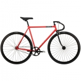 Creme Vinyl Solo Fixed Gear Bike 2015 Red