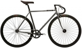 Creme Vinyl Solo Fixed Gear Bike 2015 Silver