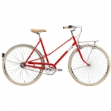 Creme CafeRacer Solo Ladies 7 Speed Bike 2015 Red