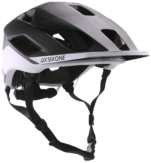 Prilba 661 SixSixOne Evo AM Patrol Black/White