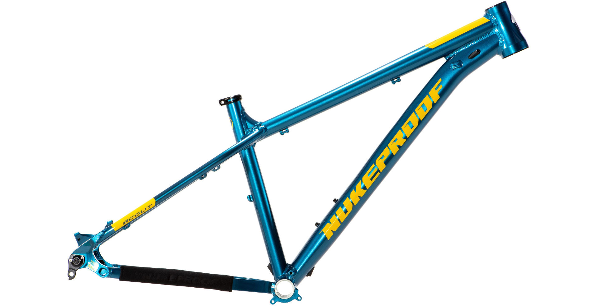 2019 Rám Nukeproof Scout 275 Blue Yellow