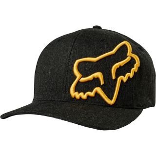 Šiltovka Fox Clouded Flexfit Hat Black