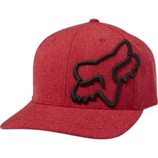 Šiltovka Fox Clouded Flexfit Hat Cardinal Red