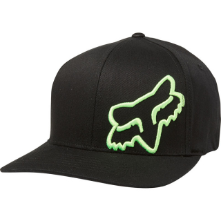 Šiltovka Fox Flex 45 Flexfit Hat Black Green