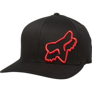 Šiltovka Fox Flex 45 Flexfit Hat Black Red