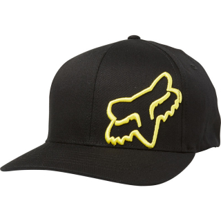 Šiltovka Fox Flex 45 Flexfit Hat Black Yellow