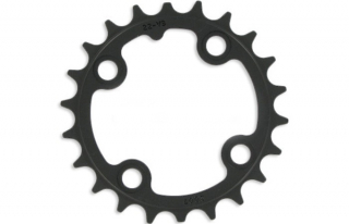 Chain ring MTB 22T S1 64 AL3 Blast Black 10 Speed SRAM