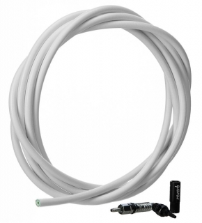 Hydraulic Hose White (2000mm) Kit - Reverb (includes new hose, new strain relief, new barb RockShox