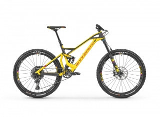 "2019 Bicykel Mondraker Dune Carbon R 27,5"" yellow fuchsia Carbon"