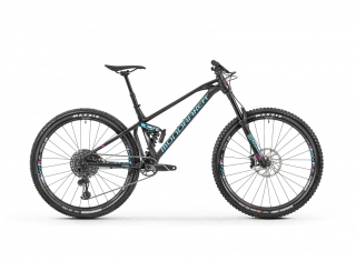 "2019 Bicykel Mondraker Foxy XR 29"" black light blue fuchsia"