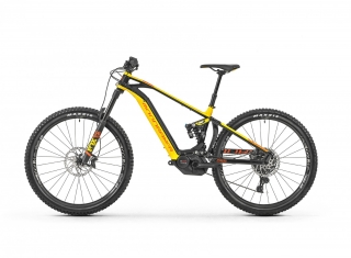 "2019 Elektrobicykel Mondraker Level R 29"" black yellow orange"