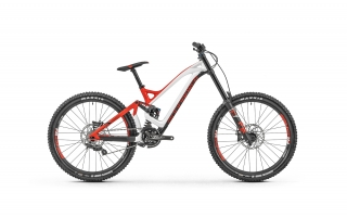 "2019 Bicykel Mondraker Summum Carbon Pro 27,5"" white flame red Carbon"