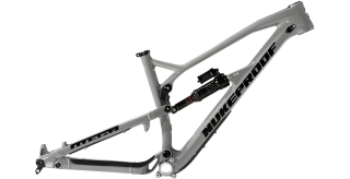 2019 Rám Nukeproof Mega 275 Carbon Grey Black