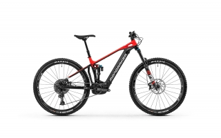 2020 Bicykel Mondraker Crafty R 29 black-flame red-white