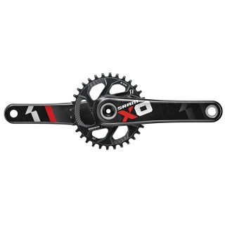 Kľuky SRAM X01 GXP 175mm 32t Direct Mount Red