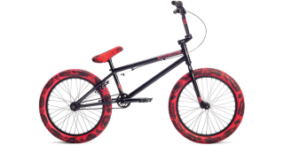 2019 BMX Stolen Casino Black XS Red Tie Dye