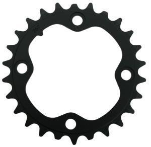 Chain Ring MTB 48T B V2 104 Alum 4mm Blast Black (48-36-26) SRAM