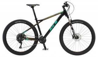 "2018 Bicykel GT Avalanche 27,5"" Womens Expert Black Pearl Teal Cream Cycle"