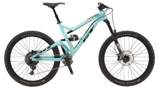 "2018 Bicykel GT Sanction 27,5"" Expert Gloss Turquoise Black Orange"