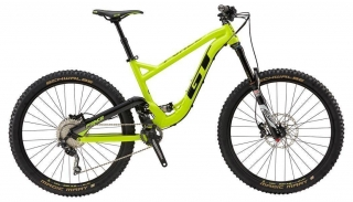 "2018 Bicykel GT Force 27,5"" Sport Neon Yellow Black Gun"