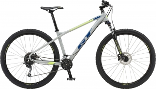 "2019 Bicykel GT Avalanche 27,5"" Comp Battleship Grey Deep Navy Neon Yellow"