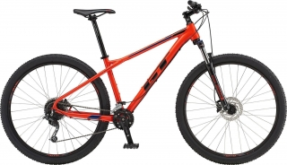 "2019 Bicykel GT Avalanche 29"" Comp Gloss Red Black Deep Navy"