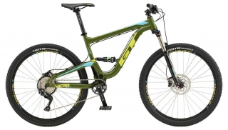 "2019 Bicykel GT Verb 27,5"" Elite Satin Army Green Aqua Blue Chartreuse"