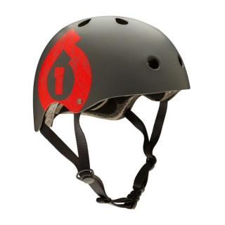 661 SixSixOne Dirt Lid Icon Grey/Red