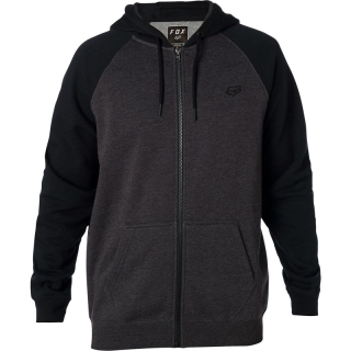 Mikina Fox Legacy Zip Fleece Black Charcoal
