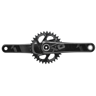 Kľuky Sram X01 GXP 175mm 32t Direct Mount Black