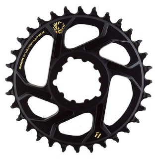 Direct Mount prevodník SRAM X-Sync 2 Offset 6mm 32t Zlatý