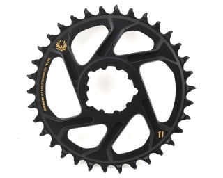 Direct Mount prevodník SRAM X-Sync 2 Offset 6mm 34t Zlatý