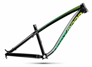 2018 Rám Dartmoor Hornet Pearl Black / Green