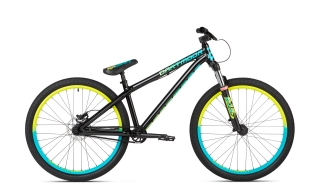 2018 Bicykel Dartmoor Gamer26 Black Sea Lemon