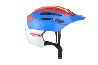 Prilba URGE Endur-O-Matic 2 Blue/White/Red