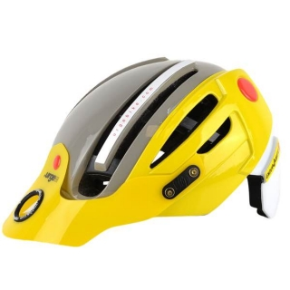 Prilba URGE Endur-O-Matic 2 Yellow/Grey