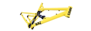 Rám DMR Bikes Bolt Long Matte Yellow