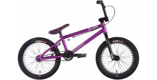 "2018 BMX Blank Buddy 16"" Vivid Matt Purple"