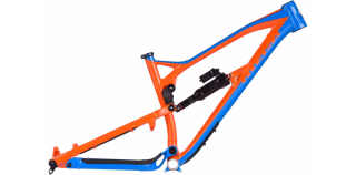 2018 Rám Nukeproof Mega 275 Blue - Orange