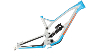 2018 Rám Nukeproof Pulse Battleship Grey-Blue-Orange