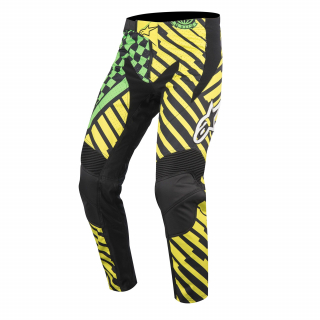 Nohavice Alpinestars Sight Speedster Bright Green/Black/Acid Yellow