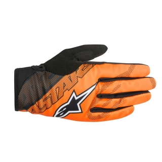 Zimné cyklistické rukavice Alpinestars Stratus Burnt Orange