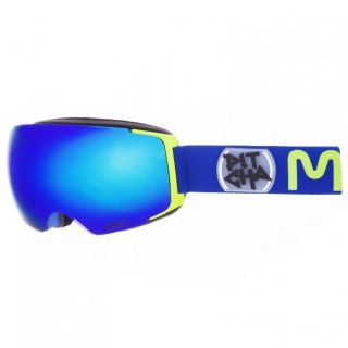 Snowboardové okuliare Pitcha Magno Navy/Fluo/Blue Mirrored