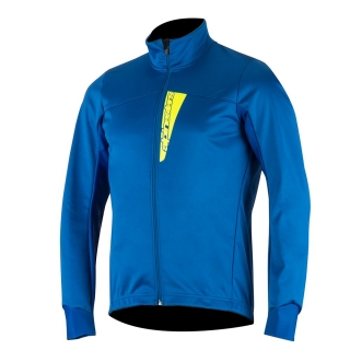 Alpinestars Cruise Shell Jacket Royal Blue/Yellow Fluo